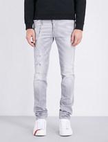DSQUARED2 Skinny distressed stretch-denim jeans