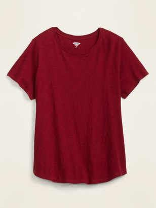 Old Navy EveryWear Slub-Knit Plus-Size Tee