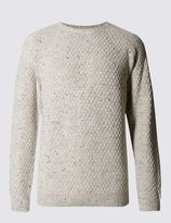 Marks and Spencer Mid-Weight Crew Neck Jumper