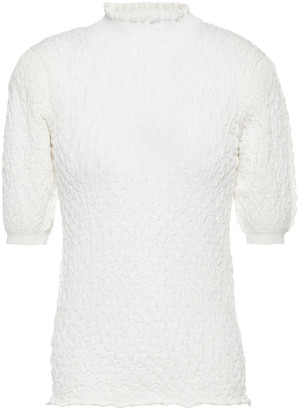 See by Chloe Cloque-knit Top