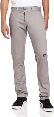 Dickies Men's Skinny Straight Double Knee Work Pant