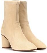 Stuart Weitzman Margot 75 suede ankle boots