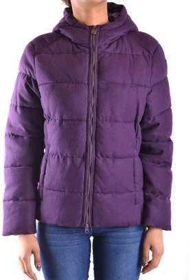 Invicta Women's Purple Polyamide Outerwear Jacket.