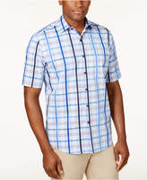 Tasso Elba Men's Plaid Shirt, Created for Macy's