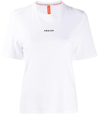 Raeburn logo-print crew-neck T-shirt