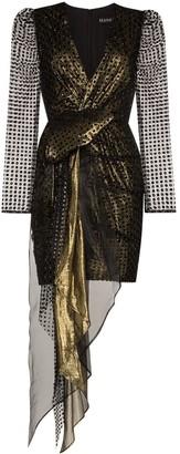 HANEY Simone metallic dress
