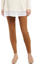 Motherhood Secret Fit Belly Faux Suede Skinny Leg Maternity Pants
