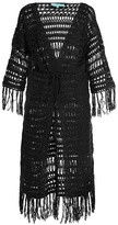 Melissa Odabash Naomi tie-waist crochet cover-up