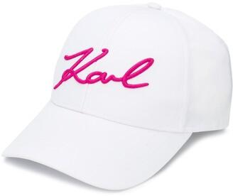 Karl Lagerfeld Paris K/Signature baseball cap