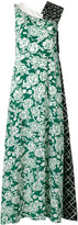 MSGM floral print dress - women - Silk/Polyester - 42