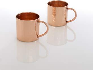 Lulu & Georgia Sur Hammered Copper Mug (Set of 4)