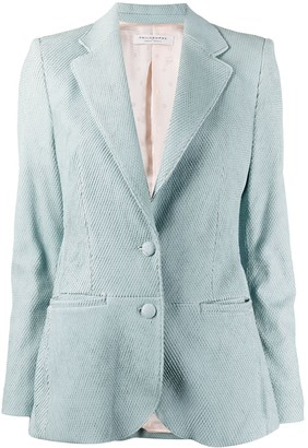Philosophy di Lorenzo Serafini Textured Single-Breasted Blazer