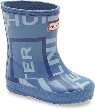 Hunter First Classic Exploded Logo Rain Boot