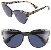 Christian Dior Women's 'Wildly Dior' 60Mm Butterfly Sunglasses - Havana/ Black Havana