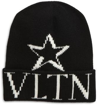 Valentino VLTN Wool & Cashmere Beanie