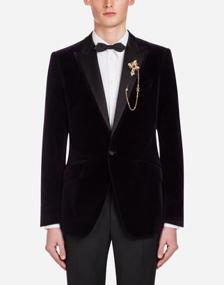 Dolce & Gabbana Velvet Tuxedo Jacket