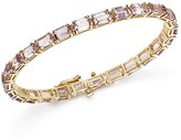 Bloomingdale's Rose Amethyst Tennis Bracelet in 14K Yellow Gold - 100% Exclusive