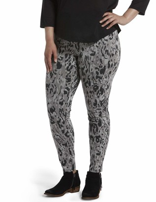 Hue Women's Animal High Waist Denim Leggings