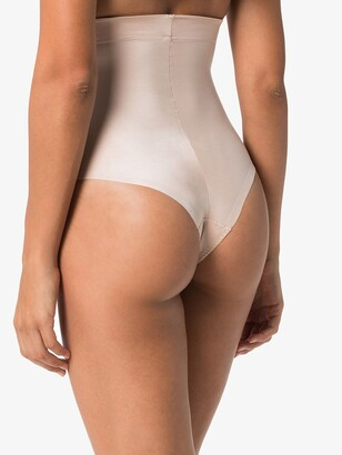 Spanx Neutral Suit Your Fancy High Waist Thong