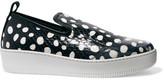 McQ by Alexander McQueen Polka-dot elaphe slip-on sneakers