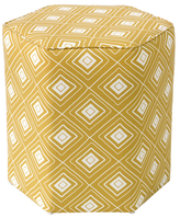 Skyline Furniture Hexagonal Ottoman