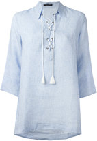Roberto Collina neck-tie blouse