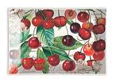 Michel Design Works Rectangular Glass Soap Dish, Black Cherry