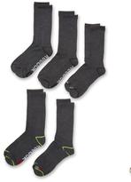 Reebok Mid Calf Knit Socks (5 Pack)