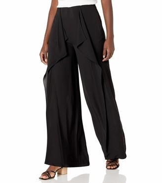 BCBGMAXAZRIA Women's Misses Jackee Front Slit Pant