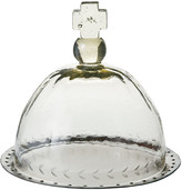 Jan Barboglio Basilica Platter & Glass Cover