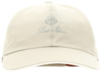 Loro Piana Logo Embroidered Baseball Hat