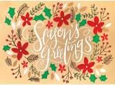 Design Design Season's Greetings Cards, Box of 8