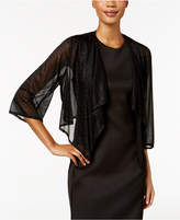R & M Richards Sparkle Draped Jacket