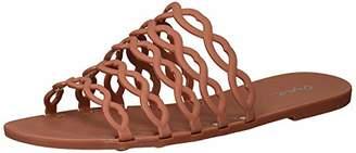 Qupid Women's Slide in Sandal Flat