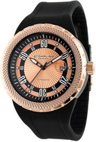 Stuhrling Original Men's 254.339614 Sportsman 'Florio' Automatic Rubber Strap Watch