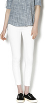 AG Adriano Goldschmied White Ankle Leggings