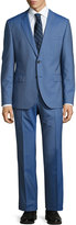 HUGO BOSS John Pinstriped Two-Piece Suit, Medium Blue