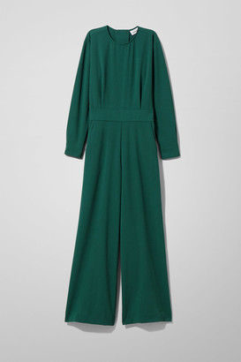 Weekday Carillon Jumpsuit - Green
