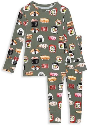 Posh Peanut Baby's, Little Kid's & Kid's 2-Piece Sashimi Long Sleeve Basic Pajama Set