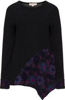 Isolde Roth Plus Size Floral insert jumper