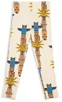 Mini Rodini Little Boy's & Boy's Animal Printed Elastic Waist Organic Cotton Blend Pants