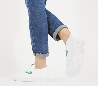 Tretorn Nylite Trainers White Green F