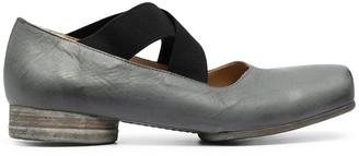 UMA WANG Square Toe Ballerina Pumps