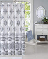 Harbor House Sanibel Cotton Percale Medallion-Print Shower Curtain