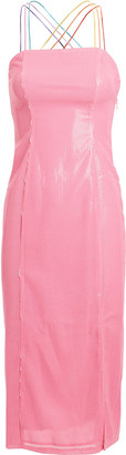 Olivia Rubin Greta Sequined Sheath Dress