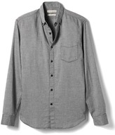 Banana Republic Heritage Camden-Fit Herringbone Shirt