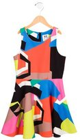 Milly Minis Girls' Printed A-Line Dress