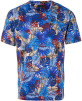Z Zegna leaf print T-shirt - men - Cotton - XS