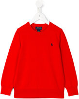 Polo Ralph Lauren logo embroidered jumper