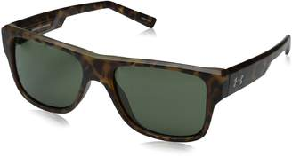 Under Armour Regime Satin Tortoise Sunglasses